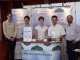 our stahl-electronics team at the booth